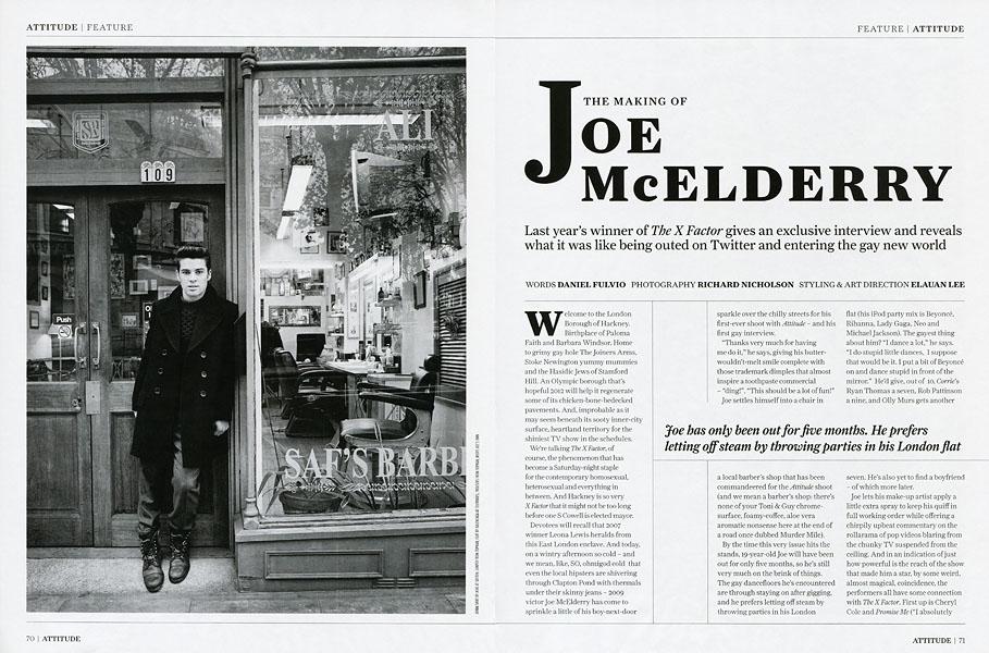 Joe McElderryAttitude