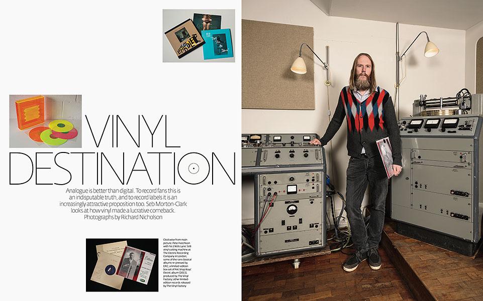 Vinyl RevivalFinancial Times Magazine